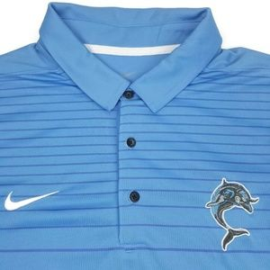 NEW Nike Dri Fit Polo Men's Size XL Blue Golf Men